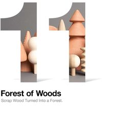 Forest of Wood: beautiful turned objects made from scrap wood by pen pencil stencil