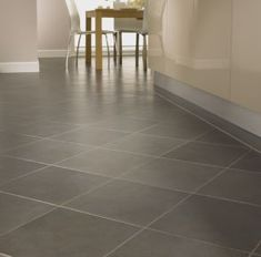 Amtico Stone. I think this is what we have, but I can't get to it! ha  For mudroom? Laundry?