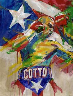 Miguel Ángel Cotto Vázquez is a Puerto Rican professional boxer. He is the first and only Puerto Rican to win titles in 4 different weight classes and is the current WBC & The Ring World Middleweight Champion.Born In Caguas Puerto Rico