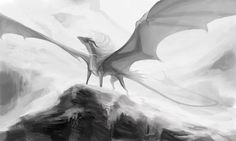 A white-scaled murderer she was, with an endless fury in her stone heart. Mythical Creatures Art, Magical Creatures, Fantasy Creatures, Dragon Armor, Legends And Myths, Creature Drawings, Dragon Pictures, White Dragon, Dragon Design