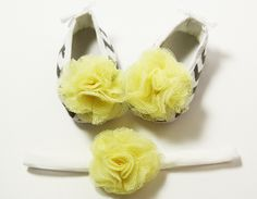 Crib Shoes Headbands-Wholesale Princess, Where Adorable Meets Affordable! Grey Yellow, Gray, Crib Shoes, Stylish Dresses, Yellow Flowers, Headbands, Chevron, Princess, Trending Outfits