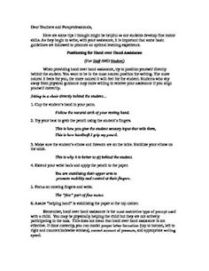 Handwriting Assistance Tips- - Pinned by @PediaStaff – Please Visit http://ht.ly/63sNt for all our pediatric therapy pins