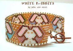 This item is unavailable Peyote Bracelet, Beaded Bracelet Patterns, Jewelry Patterns, Beaded Jewelry, Beaded Bracelets, Jewellery, Peyote Stitch Patterns, Bead Loom Patterns, Beading Patterns