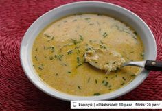 Francia tojásleves My Favorite Food, Favorite Recipes, Soup Recipes, Cooking Recipes, Hungarian Recipes, Hungarian Food, Ciabatta, Quick Meals, Soups And Stews