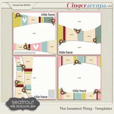 ssts  Sweetest Thing Templates