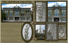 Orpheum Theater - Promised Valley Playhouse - 132 State Street - Salt Lake City, UT. Scrapbooked by EKDuncan at http://www.ekduncan.com/2012/08/digital-scrapbook-pages-salt-lake-city.html#