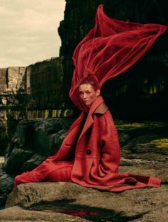 """Dreaming of Dior: """"Red Coats and Dresses"""" by Damian Foxe for How to Spend It 2015"""