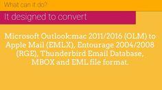 OLM to EMLX Converter | Export Mac Outlook to EMLX