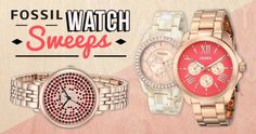 This month you'll have the chance to WIN a Fossil Watch of your choice!