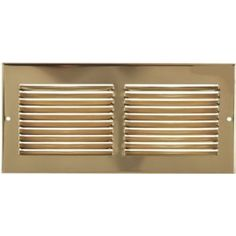 "12"" X 8"" Brass Cold Air Return Vent Cover / Grille *** Read more at the image link. (This is an affiliate link) #BuildingSupplies"