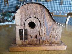Cedar/license plate birdhouse by rkwoodcrafts on Etsy