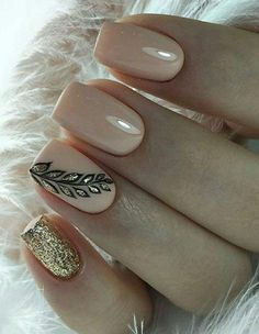 Chic Nails, Classy Nails, Trendy Nails, Long Acrylic Nails, Long Nails, Acrylic Nail Designs, Nail Art Designs, Paris Nails, Cute Simple Nails