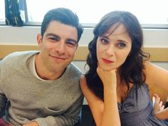 Zooey Deschanel / Max Greenfield
