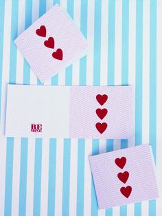 Free Heart and Chevron Printables >> http://www.diynetwork.com/decorating/diy-valentine-cards-gift-tags-banners-and-treat-bags-for-kids/pictures/index.html?soc=pinterest#