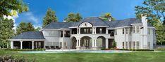 Luxury Plan: 10,639 Square Feet, 6 Bedrooms, 8 Bathrooms - 5445-00188 House Plans Mansion, Luxury House Plans, Ranch House Plans, Country House Plans, Best House Plans, Dream House Plans, Small House Plans, Mediterranean House Plans, European House