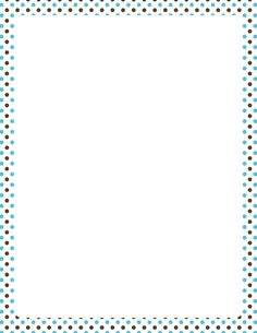 Printable blue and brown polka dot border. Free GIF, JPG, PDF, and PNG downloads at http://pageborders.org/download/blue-and-brown-polka-dot-border/. EPS and AI versions are also available.