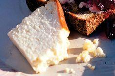 Baked sweet ricotta bread