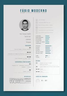 """sketcheshere: """"Curriculum Vitae by Fbio Moderno, via Behance Click to check a cool blog!"""""""