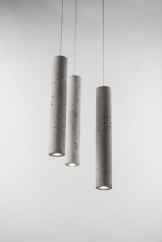 Clever Concrete Lights Cement Series Lighting by Bentu Design at Salone Satellite 2013 Interior Lighting, Home Lighting, Modern Lighting, Outdoor Lighting, Lighting Design, Lighting Ideas, Lighting Stores, Wall Lighting, Luxury Lighting