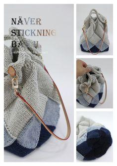 자작나무기법으로 뜬 가방 vol.2스웨덴 자작나무기법으로 뜬 가방은 이미 판매 되고 있는 도안으로 볼륨감... What Is Knitting, Crochet Hooks, Knit Crochet, Knit Basket, O Bag, Hardanger Embroidery, Knitting For Beginners, Knitted Bags, Bucket Bag