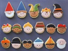 using different cutters to make different designs....Easy Party Hat Cookies | Klickitat Street