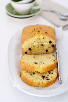 Q.C.ne: Il cake perfetto plumcake  con gocce di cioccolato