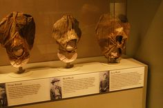 Exicution Masks of the Lincoln Conspirators