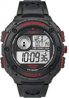 Timex Men's Expedition Vibe Shock Resistant Chronograph Alarm | Watch T49980 Timex  Up to 330 Points