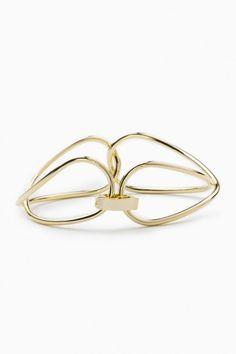 interlink gold bracelet