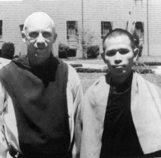 Have had the great honour of knowing both these friends: Tom Merton  (Fr. Louie, 1915-1968), and Ven. Thích Nhất Hạnh (Br.Thầy,  b.1926, now 87)...nine bows