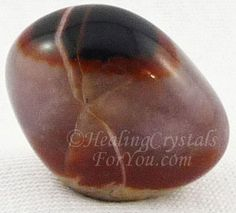 Sardonyx embodies vibration of happiness, optimism and confidence Brings you back to earth after spiritual work Helpful when studying Enhances partnerships as promotes integrity and virtuous behavior, grounding stone thru earth chakra & base chakra Grounding Crystals, Healing Crystals For You, Crystals And Gemstones, Stones And Crystals, Healing Stones, Rocks And Gems, Rocks And Minerals, Sardonyx Stone, Gemstone Brooch