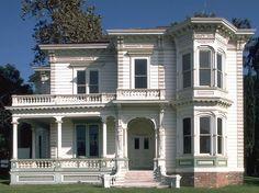 Perry House, 1876 Italianate, Los Angeles, CA