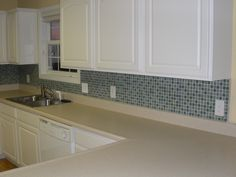 mosaic tile bathroom backsplash ideas - Google Search