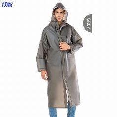 1//2PCS Kids Reusable Rainwear Waterproof Raincoats Long Style Coverup