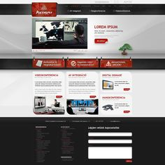 web interface / web design for a video conference expert Kensai web design Affordable Website Design, Website Design Services, Website Designs, Web Design Trends, Design Web, Design Digital, Web Design Company, Digital Signage, Web Layout