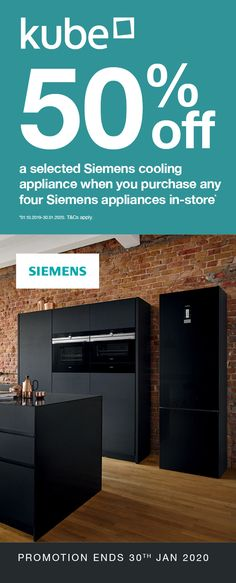 Up to off a selected Siemens cooling appliance when you purchase any four Siemens appliances with Kube. Food Fresh, Art And Technology, State Art, The Selection, Innovation, Promotion, Appliances, Shapes