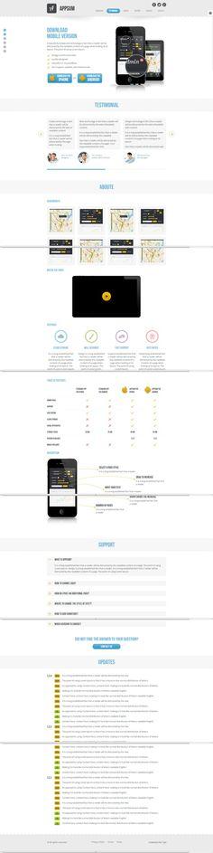Appsum - wordpress responsive template  #wordpress #theme #website #template #responsive #design #webdesign #flat #flatdesign #app #iphone #ipad #style