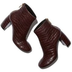 Stella McCartney Alter Croc High-Heel Boot Goop
