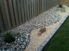 diy rock garden- I like the use of different kinds of rock