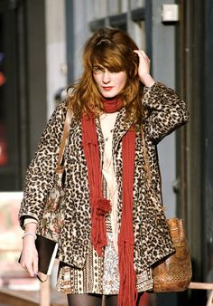 Florence Welch of Florence and the Machine had several looks at the 2010 Brit Awards. Description from moxiefashionista.blogspot.com. I searched for this on bing.com/images