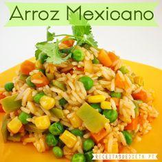 Arroz Mexicano #receita #emagrecer #dieta #light #regime