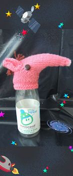 The Big Knit Challenge for Innocent Smoothies Loom Knitting, Knitting Patterns Free, Knit Patterns, Free Knitting, Baby Knitting, Crochet Toys, Knit Crochet, Big Knits, Christmas Makes
