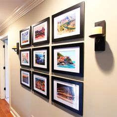 New House Tour } Travel Gallery Wall Display bright travel pictures with your own travel gallery wall to add a personal touch to your home.Display bright travel pictures with your own travel gallery wall to add a personal touch to your home. Travel Gallery Wall, Photo Voyage, Blogger Home, Photo Displays, Travel Pictures, Travel Photos, Home Projects, Photo Wall, New Homes