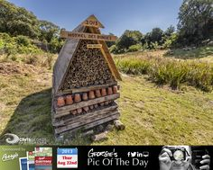 Came across this Insect Hotel in the valley near St Peters Church. It's #ABugsLife #LoveGuernsey  http://chrisgeorgephotography.dphoto.com/#/album/cbc2cr/photo/17870226  Perrys Guide Ref: Page 27 F1 Picture Ref: 22_08_13 — at St Pierre du Bois, Guernsey.