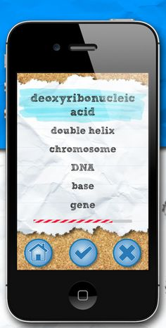 Whatchamacology. App for helping with science vocabulary.