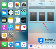 #3uTools  #iPhone #iOS # apple #iCloud How to Import Books Using 3uTools?http://forum.3u.com/topic/How-to-Import-Books-Using-3uTools--8-482