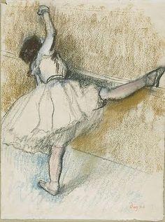 figure study by Degas