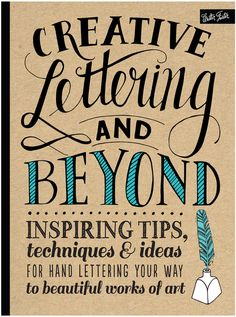 Quarto Publishing Creative Lettering and Beyond #affiliate (scheduled via http://www.tailwindapp.com?utm_source=pinterest&utm_medium=twpin)