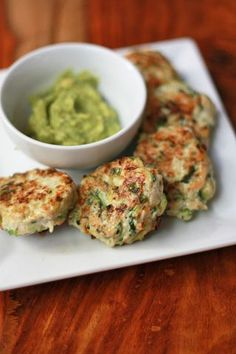 Chicken & Zucchini Poppers (GF, DF, Paleo, Whole30) // One Lovely Life - leave out the pepper to make it AIP compliant