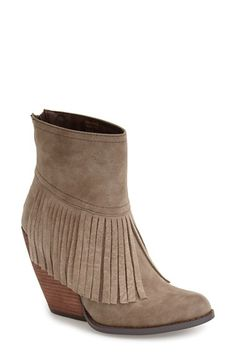 Very+Volatile+'Khloe'+Fringe+Demi+Wedge+Boot+(Women)+available+at+#Nordstrom